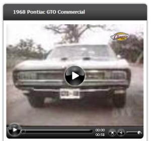 Pontiac GTO Commercial with Bonny and Clyde