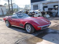 71 Corvette Convertible Red